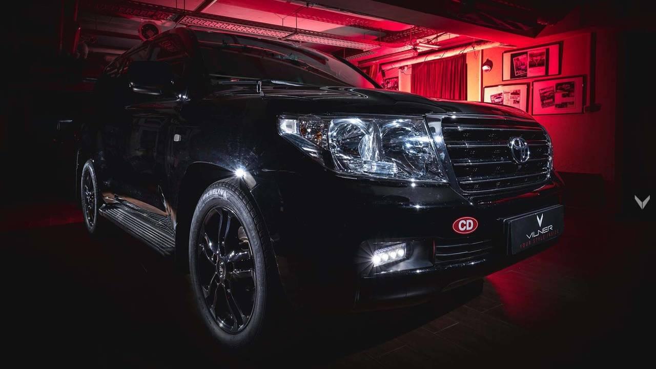 Тюнинг-ателье Vilner презентовало модифицированный Toyota Land Cruiser