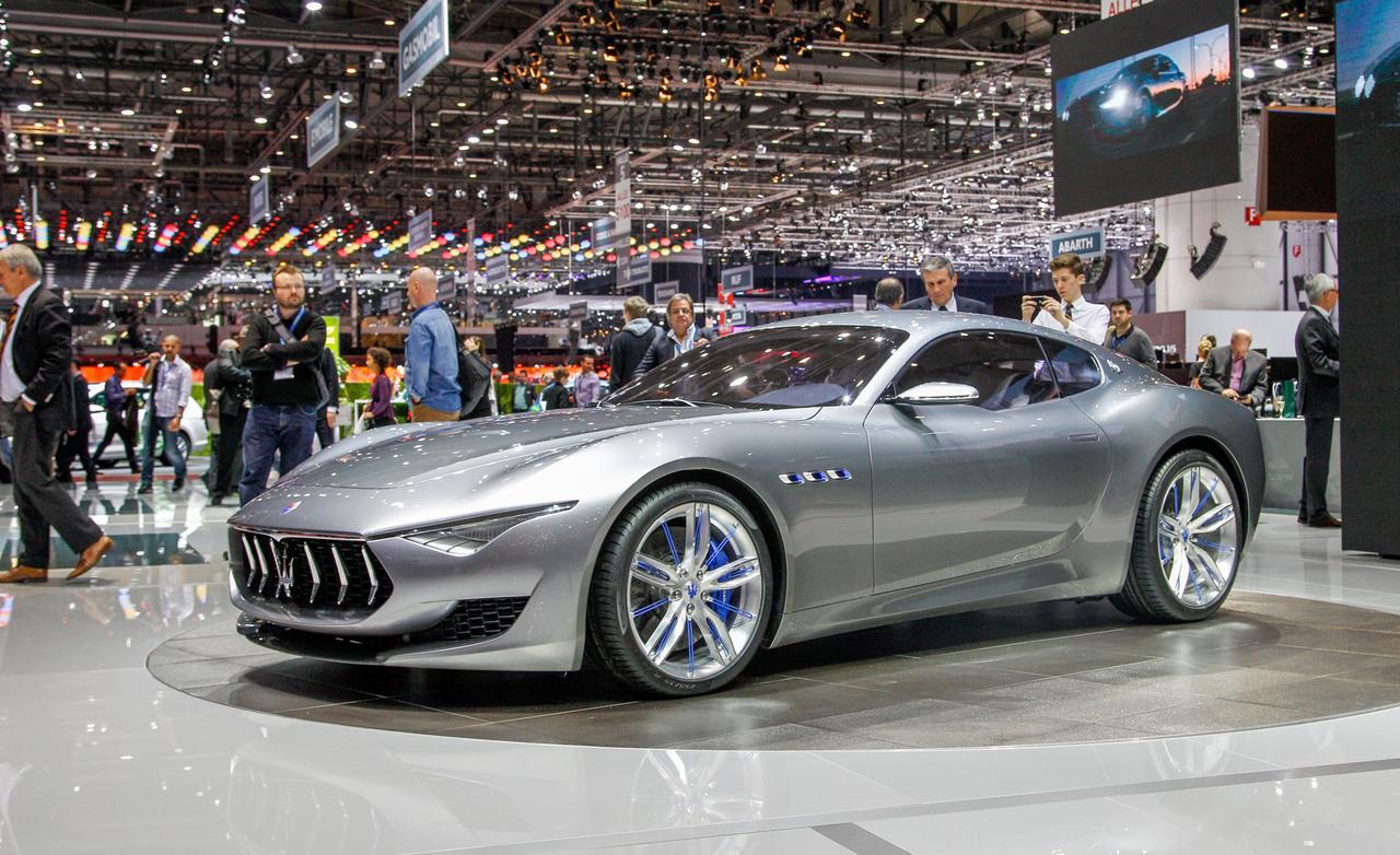 Спортивное электрическое купе Мазерати Alfieri собирается выпустить итальянская компания