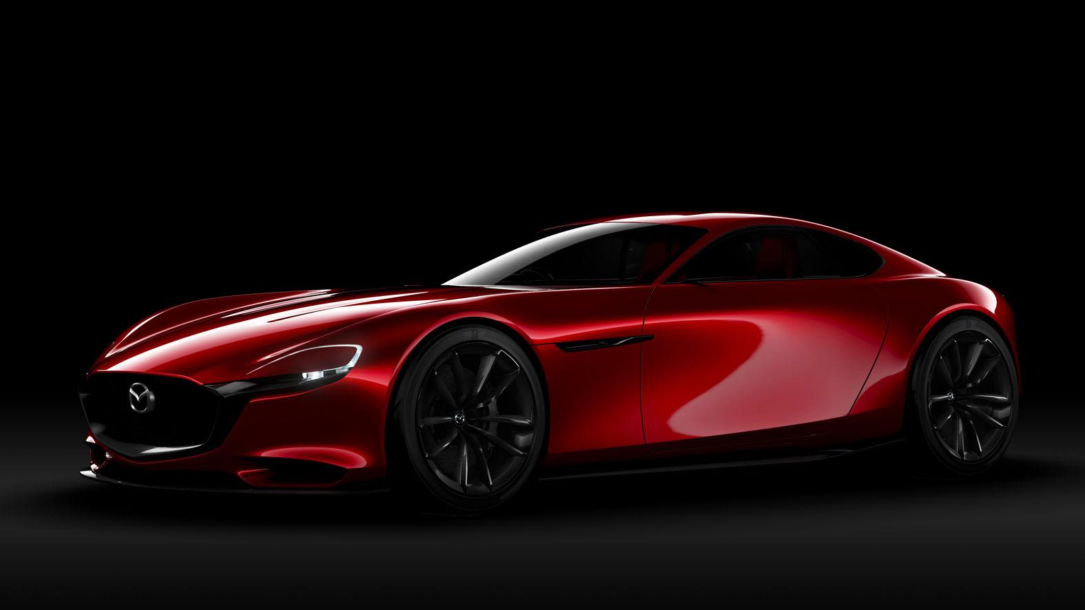 Мазда представит купе наоснове RX-Vision в 2019-ом