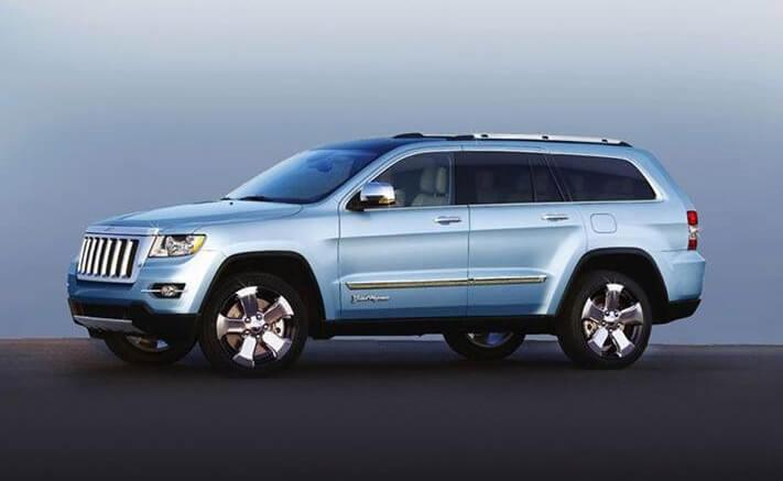 Производство Jeep Grand Wagoneer остановлено