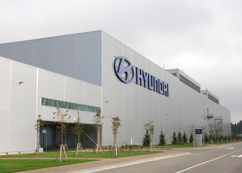 Завод Хюндай вПетербурге приостановил производство ради нового Solaris