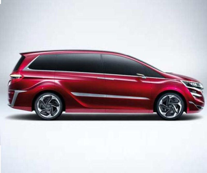 Минивэн Odyssey 5-той генерации Хонда покажет вДетройте
