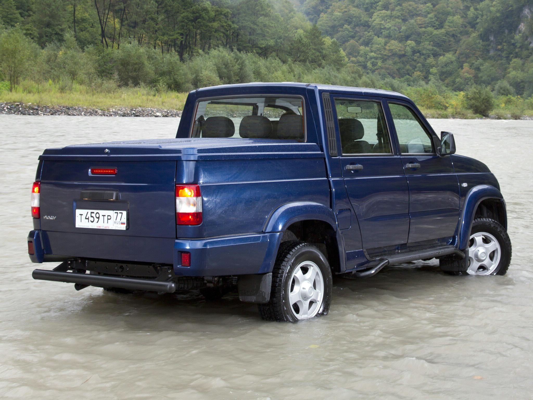 УАЗ Пикап стал лидером по продажам в своем сегменте на российском рынке