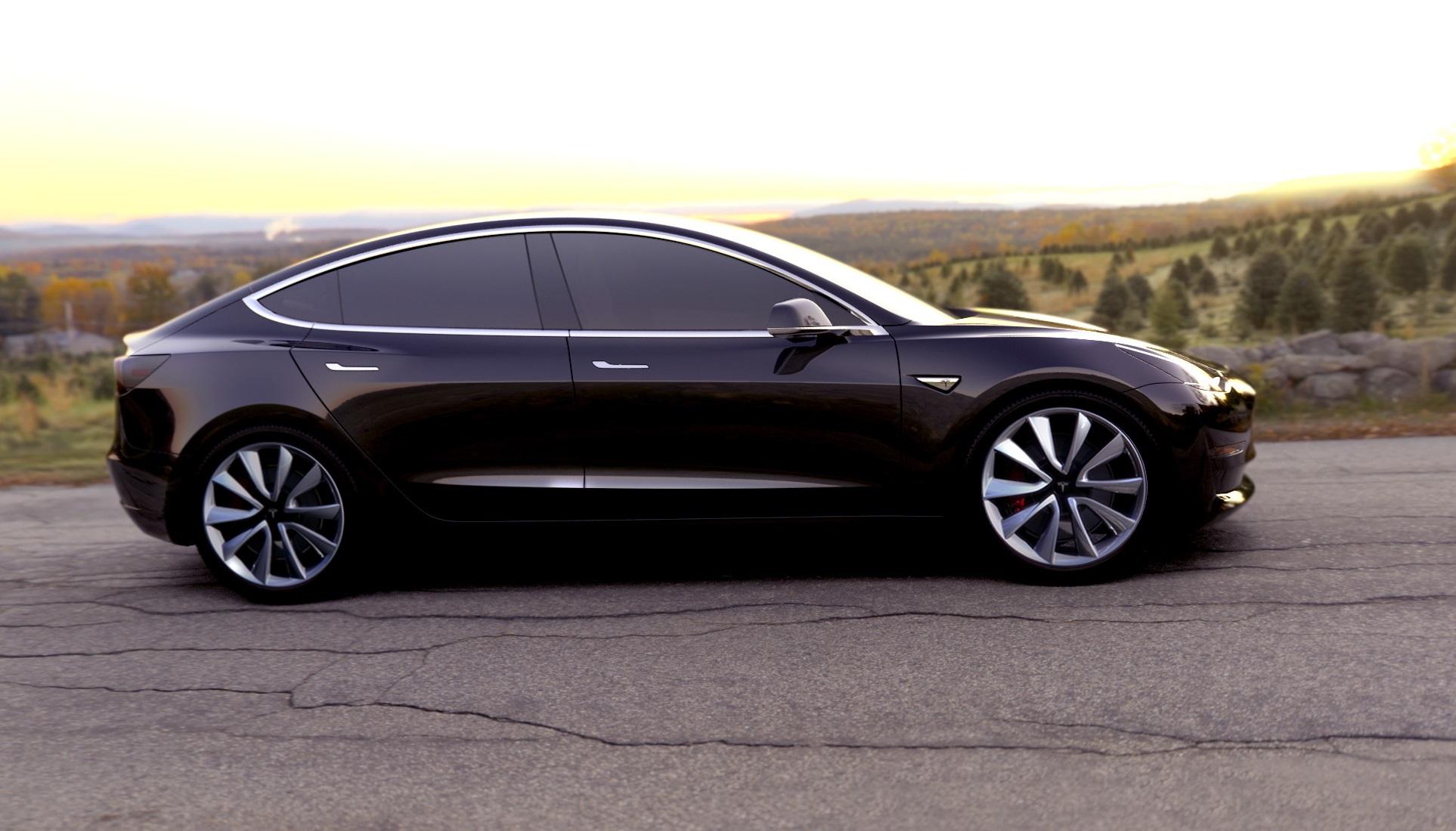 Электрокар Tesla Model 3 превысил заявленную максимальную скорость