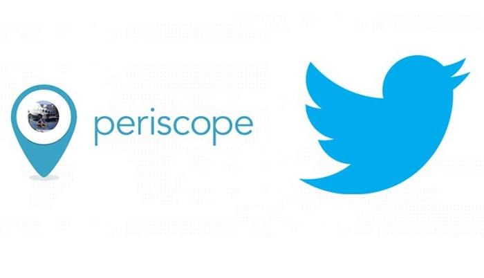 Социальная сеть Twitter запускает новый формат видеотрансляций Periscope суглом обзора 360°