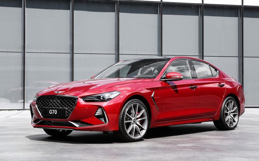 Премиальный седан Genesis G70 получит в Российской Федерации один мотор