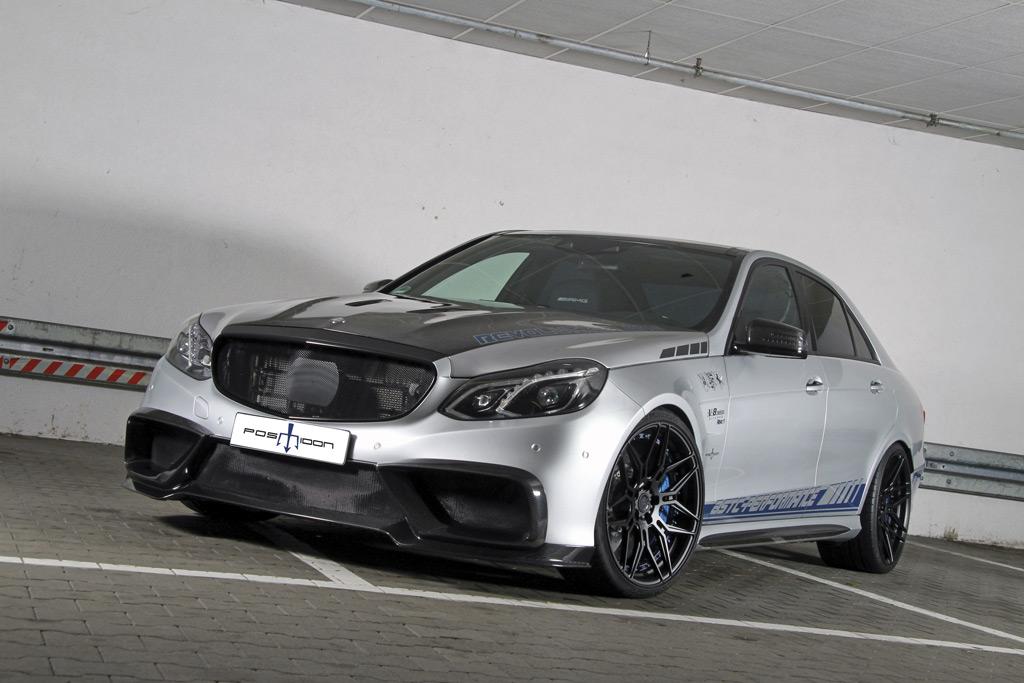 Тюнинг-ателье Posaidon представило Mercedes-AMG E63 S