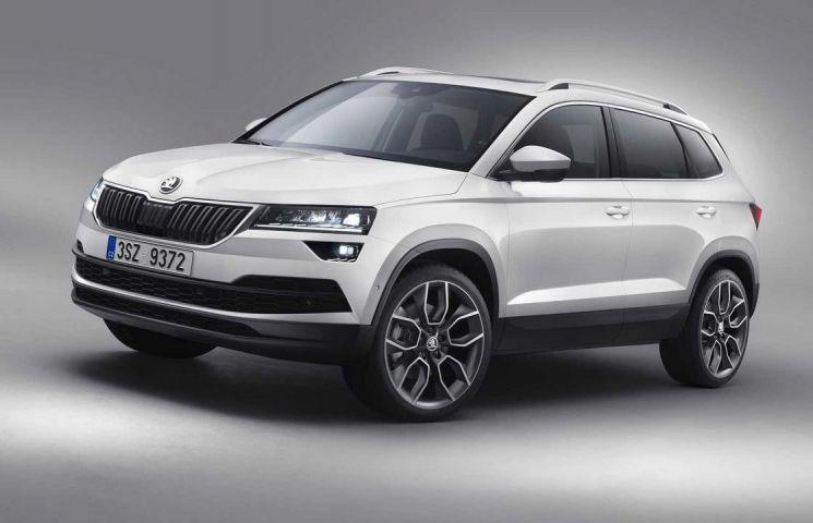 Кроссовер Шкода KaroqRS появится на рынке автомобилей в наступающем году