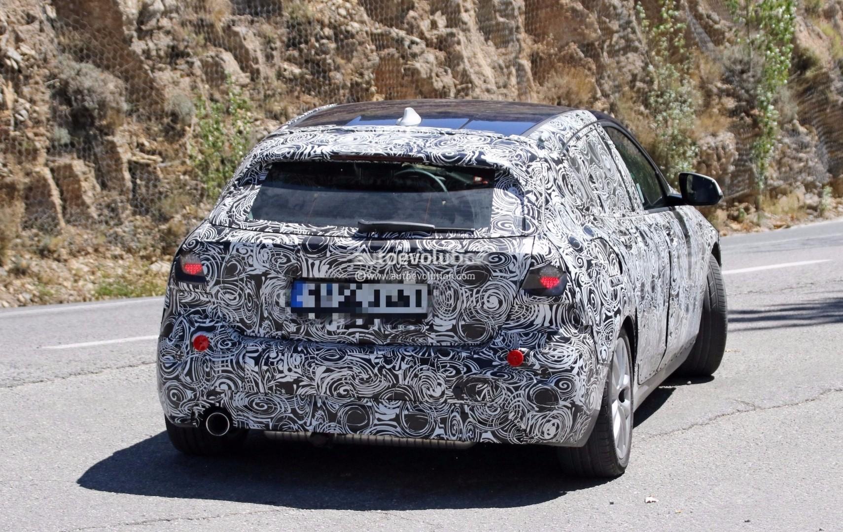 Новый БМВ 1-Series вывели на заключительные тесты всерийном кузове