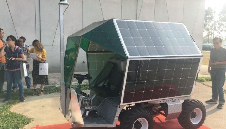 В Тайване разработали самоходный автомобиль для фермеров