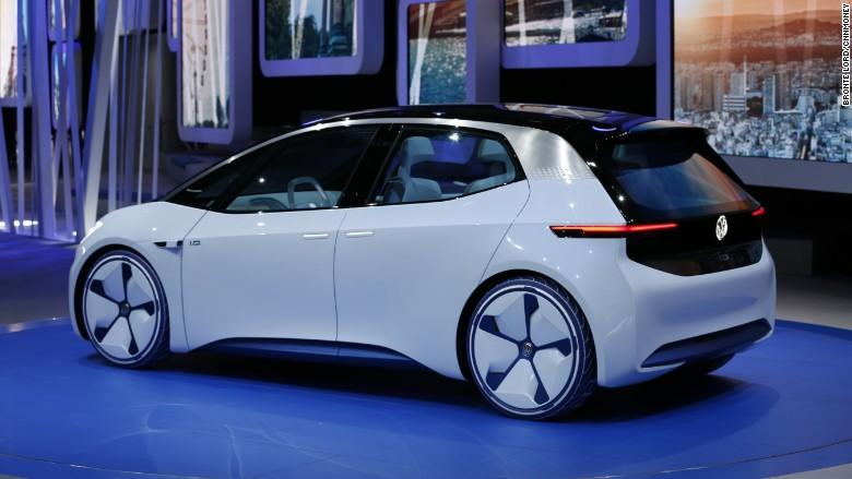 Фольксваген Гольф электромобиль. Цена Volkswagen Golf
