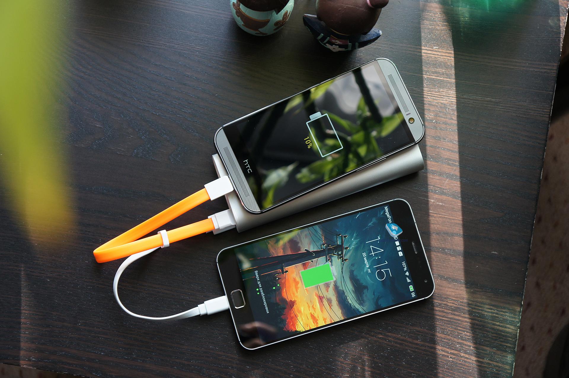 полная зарядка нового телефона последние два